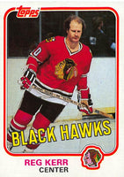 1981-82 Topps #W70 Reg Kerr NM-MT Hockey NHL Blackhawks