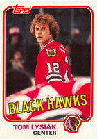 1981-82 Topps #W71 Tom Lysiak NM-MT Hockey NHL Blackhawks