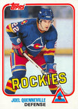 1981-82 Topps #W83 Joel Quenneville NM-MT Hockey NHL Rockies