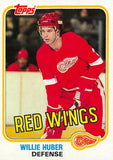 1981-82 Topps #W89 Willie Huber NM-MT Hockey NHL Red Wings