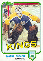 1981-82 Topps #W98 Mario Lessard NM-MT Hockey NHL Kings