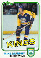 1981-82 Topps #W101 Mike Murphy NM-MT Hockey NHL Kings