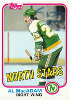 1981-82 Topps #W107 Al MacAdam NM-MT Hockey NHL North Stars