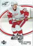 2005-06 Ice #35 Henrik Zetterberg MINT Hockey NHL Red Wings