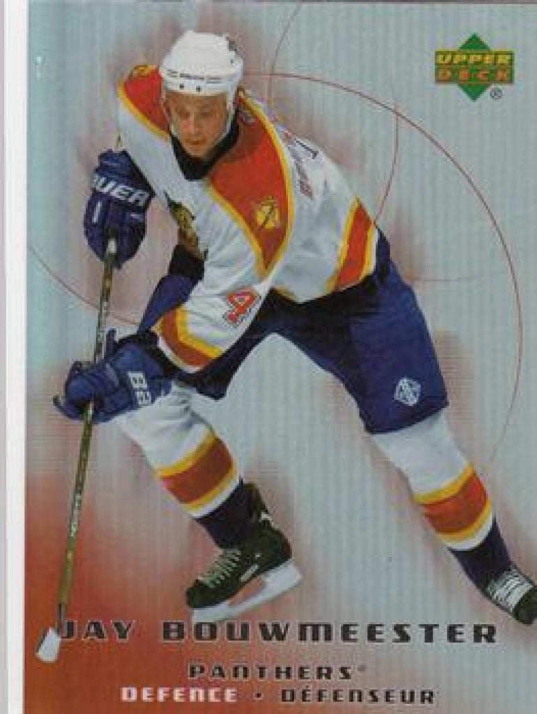 2005-06 McDonald's #1 Jay Bouwmeester MINT Hockey NHL Panthers