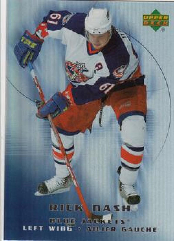 2005-06 McDonald's #9 Rick Nash MINT Hockey NHL Blue Jackets