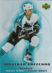 2005-06 McDonald's #43 Jonathan Cheechoo MINT Hockey NHL Sharks