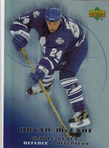 2005-06 McDonald's #49 Bryan McCabe MINT Hockey NHL Maple Leafs