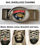 Florida Panthers NHL Shoelace Charms for Skates, Shoes, Bracelets etc.