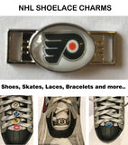 Philadelphia Flyers NHL Shoelace Charms for Skates, Shoes, Bracelets etc.
