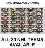 Tampa Bay Lightning NHL Shoelace Charms for Skates, Shoes, Bracelets etc.
