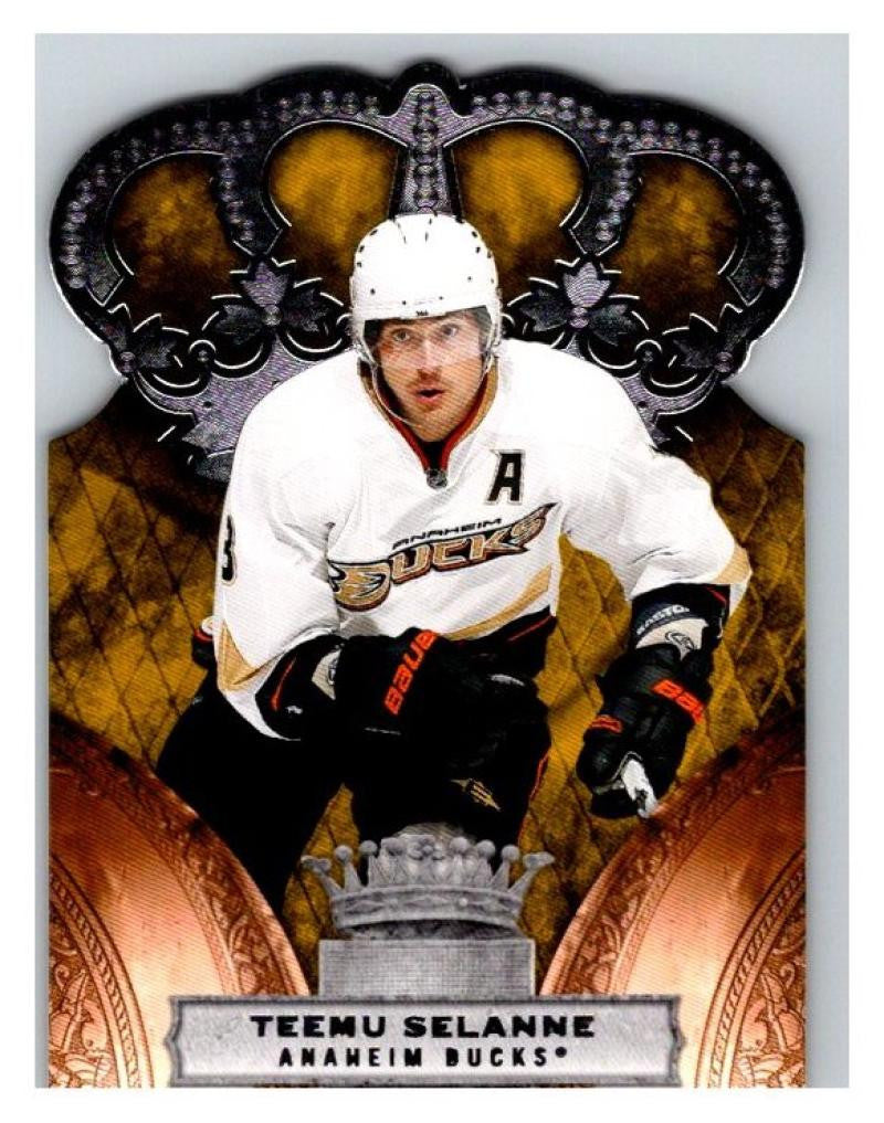 2010-11 Crown Royale #3 Teemu Selanne NM-MT Hockey NHL Ducks