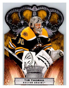 2010-11 Crown Royale #9 Tim Thomas NM-MT Hockey NHL Bruins