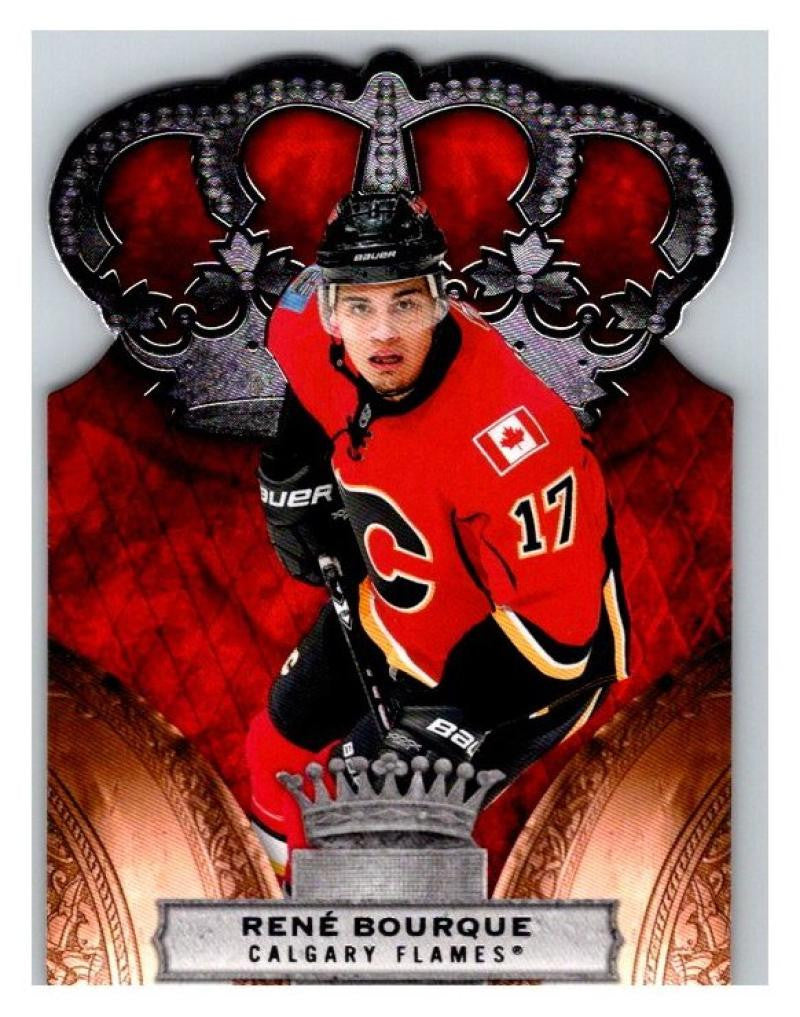 2010-11 Crown Royale #15 Rene Bourque NM-MT Hockey NHL Flames