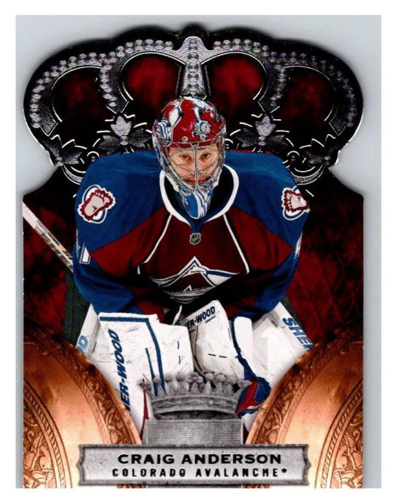 2010-11 Crown Royale #27 Craig Anderson NM-MT Hockey NHL Avalanche