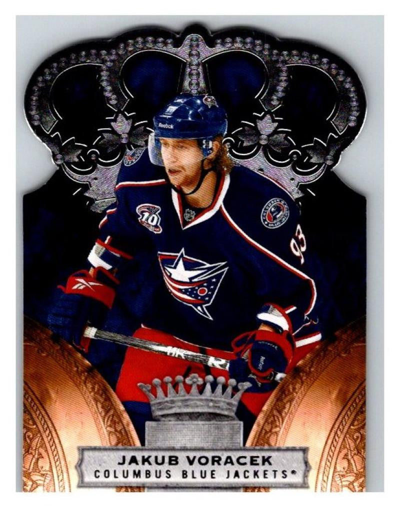 2010-11 Crown Royale #30 Jakub Voracek NM-MT Hockey NHL Blue Jackets