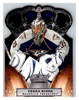 2010-11 Crown Royale #55 Pekka Rinne NM-MT Hockey NHL Predators