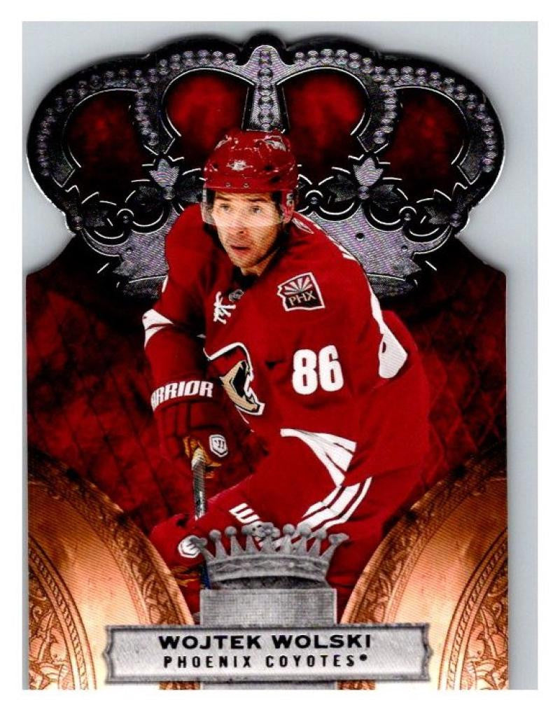 2010-11 Crown Royale #74 Wojtek Wolski NM-MT Hockey NHL Coyotes