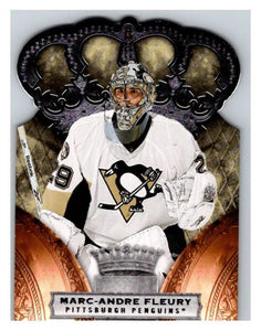 2010-11 Crown Royale #78 Marc-Andre Fleury NM-MT Hockey NHL Penguins