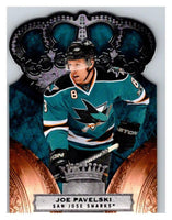 2010-11 Crown Royale #80 Joe Pavelski NM-MT Hockey NHL Sharks