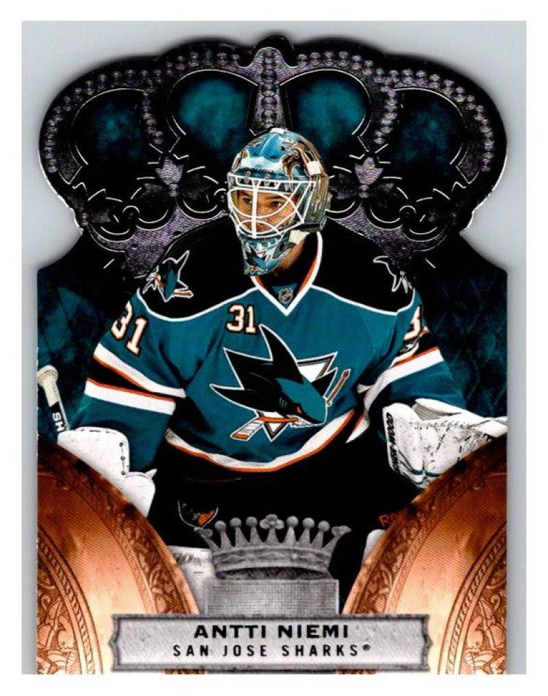 2010-11 Crown Royale #82 Antti Niemi NM-MT Hockey NHL Sharks