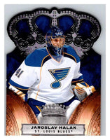 2010-11 Crown Royale #85 Jaroslav Halak NM-MT Hockey NHL Blues