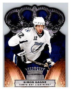 2010-11 Crown Royale #87 Simon Gagne NM-MT Hockey NHL Lightning