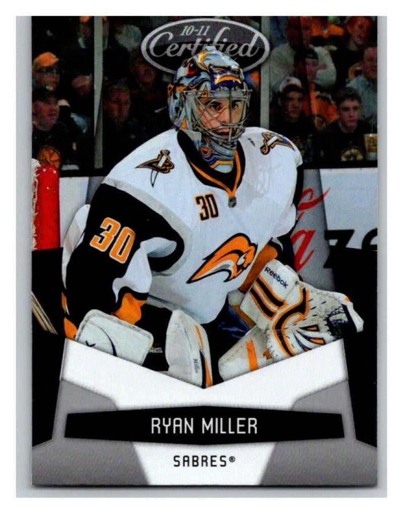 2010-11 Certified #16 Ryan Miller NM-MT Hockey NHL Sabres