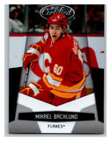 2010-11 Certified #24 Mikael Backlund NM-MT Hockey NHL Flames