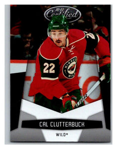 2010-11 Certified #72 Cal Clutterbuck NM-MT Hockey NHL Wild