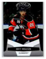 2010-11 Certified #91 Matt Moulson NM-MT Hockey NHL NY Islanders