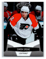 2010-11 Certified #109 Simon Gagne NM-MT Hockey NHL Flyers
