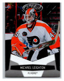 2010-11 Certified #110 Michael Leighton NM-MT Hockey NHL Flyers