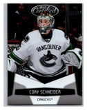 2010-11 Certified #144 Cory Schneider NM-MT Hockey NHL Canucks