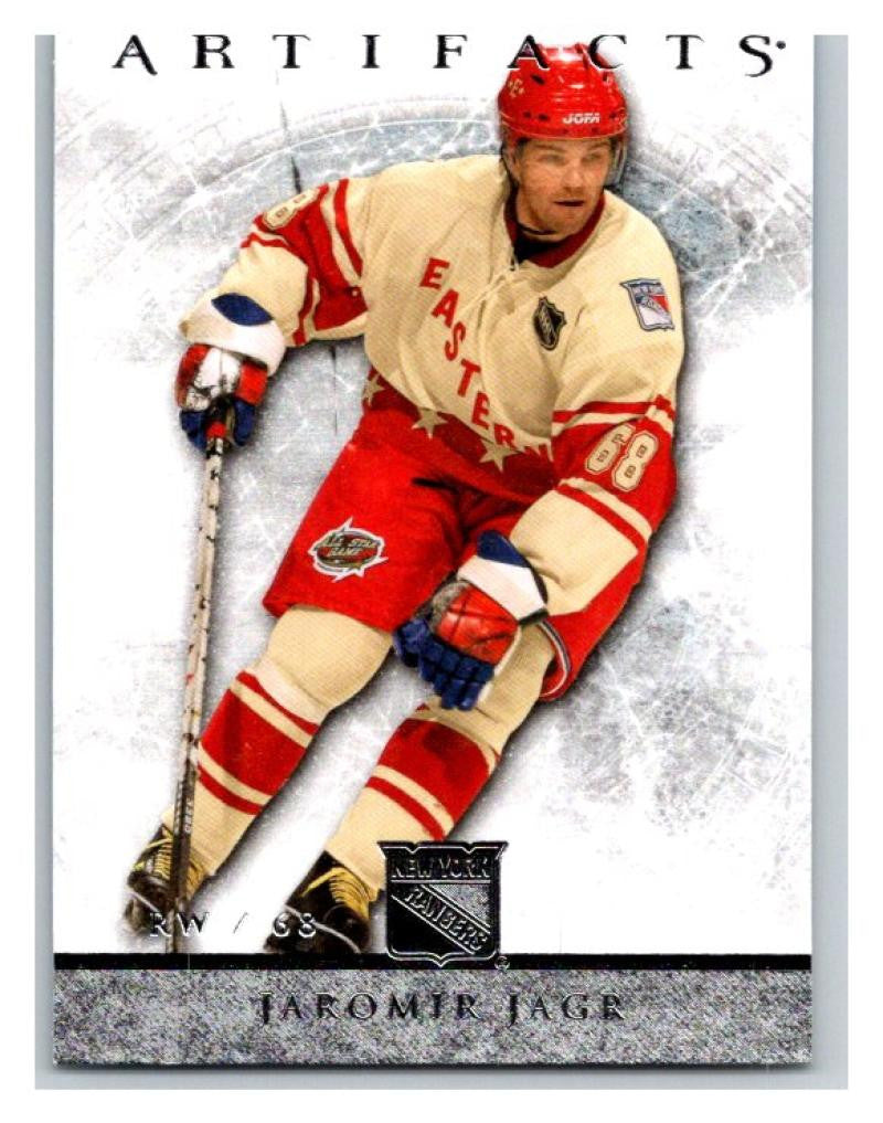 2012-13 Artifacts #35 Jaromir Jagr NM-MT Hockey NHL NY Rangers