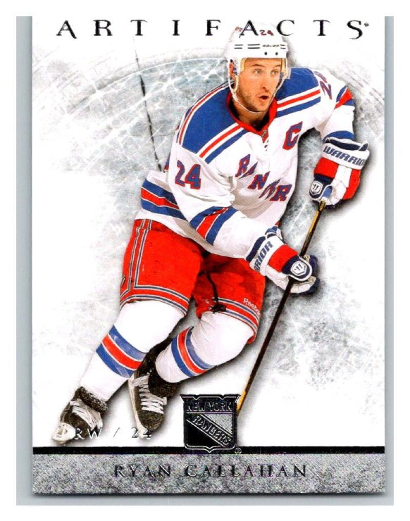 2012-13 Artifacts #81 Ryan Callahan NM-MT Hockey NHL NY Rangers