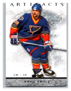 2012-13 Artifacts #92 Tony Twist NM-MT Hockey NHL Blues