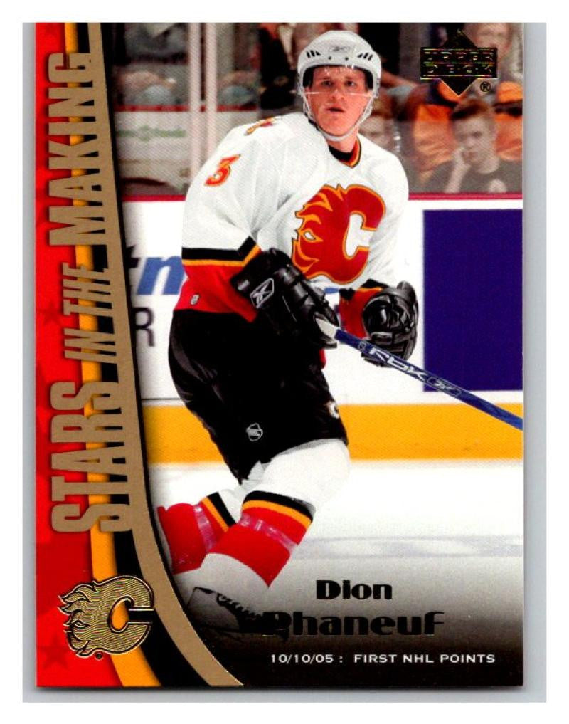 2005-06 Upper Deck Stars in the Making #SM8 Dion Phaneuf NM-MT Hockey NHL 02712