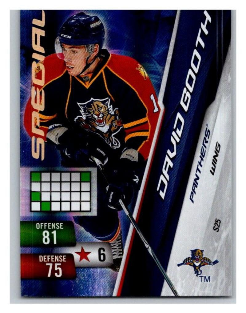 2010-11 Adrenalyn XL Special #S25 David Booth NM-MT Hockey NHL Panthers 02723