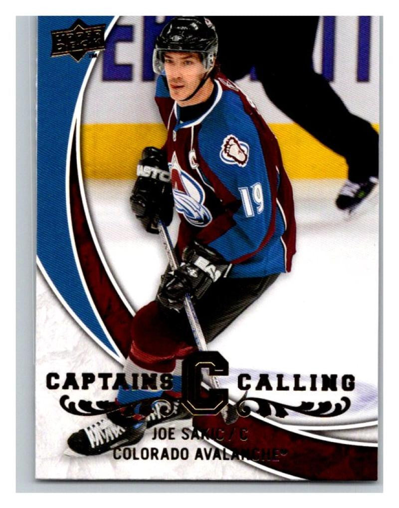 2008-09 Upper Deck Captains Calling #CPT3 Joe Sakic NM-MT Hockey Avalanche 02737