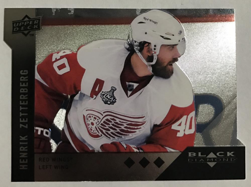 2009 Black Diamond Horizontal Perimeter Cut #BD4 Henrik Zetterberg NM-MT 02741