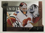 2009 Black Diamond Horizontal Perimeter Die-Cut #BD7 Miikka Kiprusoff NM-MT 02744