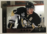 2009 Black Diamond Horizontal Perimeter Die-Cut #BD18 Evgeni Malkin NM-MT 02755