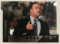 2009 Black Diamond Horizontal Perimeter Die-Cut #BD19 Scotty Bowman NM-MT 02756
