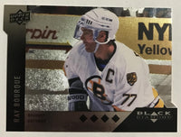 2009 Black Diamond Horizontal Perimeter Die-Cut #BD20 Ray Bourque NM-MT 02757