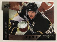 2009 Black Diamond Horizontal Perimeter Die-Cut #BD23 Sidney Crosby NM-MT 02760
