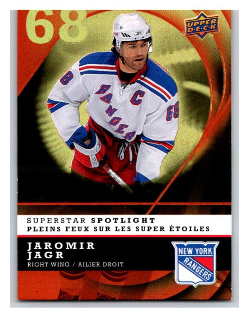 2008-09 McDonald's Superstar Spotlight #IS12 Jaromir Jagr NM-MT Hockey NHL 02771