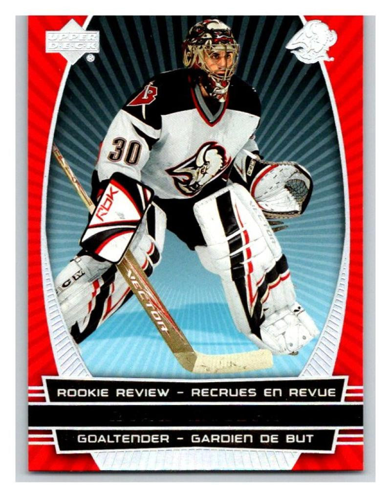 2006-07 Upper Deck Rookie Review #RR11 Ryan Miller NM-MT Hockey NHL 02781