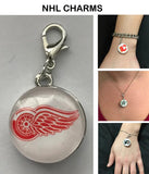 Detroit Red Wings NHL Clip Charm for Bracelets, Necklaces, etc.