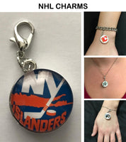 New York Islanders NHL Clip Charm for Bracelets, Necklaces, etc.